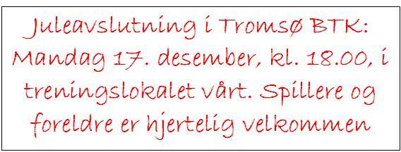 Juleavslutning 2007