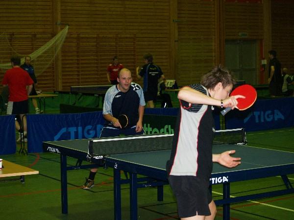 Arne Davidsen mot Geir Bergersen