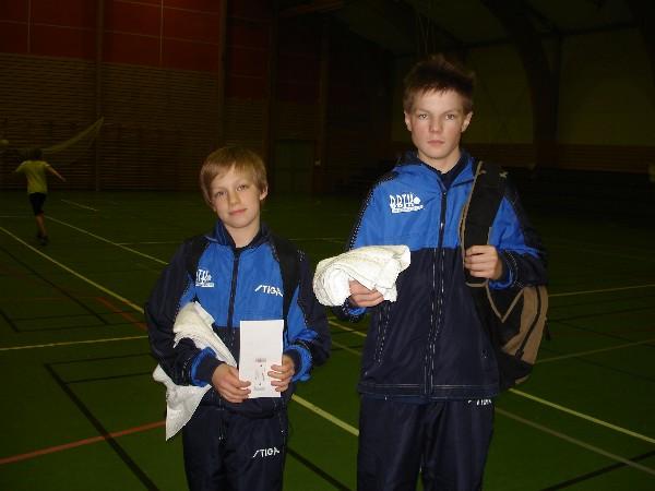 Morten og Andreas Wiik fra Bodø