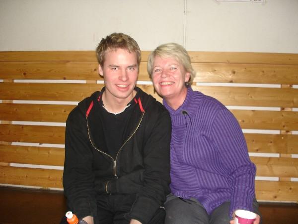 Nils med mamma